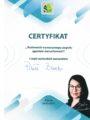 Certyfikat - Paweł Burda