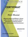 Certyfikaty - Piotr Musiał